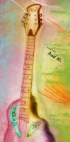 Guitar Sketch by Areeb89