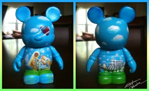 Vinylmation 3'' To the Future Custom by StephanieCassataArt