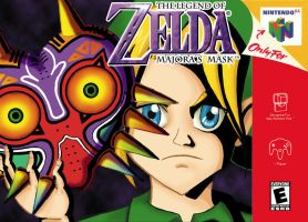 Video Game Cover: Majora's Mask by BunnyG88