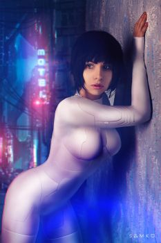Ghost in the Shell  Cosplay by elenasamko