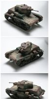 7TP light tank [1:72] by WormWoodTheStar