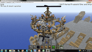 Minecraft Steampunk Platform 2 by irHAXOR
