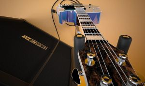 3d Guitar and Ampstack 2 by bewsii