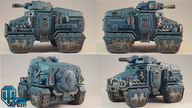 Taurox Prime Perspective by Rodesu