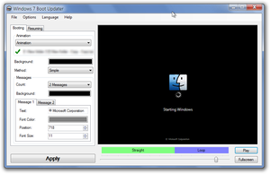 Mac OS Classic Animation Boot Screen For Windows 7 by Eorxroa
