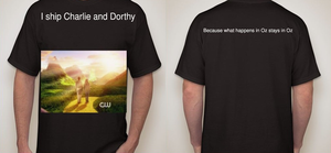 Charlie and Dorthy ship shirt by PsychPsych-o