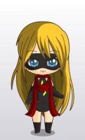 ms marvel chibi style by MAHGOL-DC-LOVER