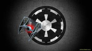 Hull Plate Galactic Empire TIE Fighter by Dave-Daring
