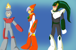 Favorite Robot Masters 1-3 by minieverfeel