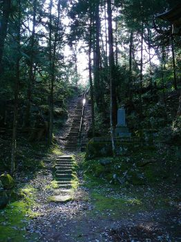 Cemetary Stairs by katters