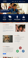 Human Benefit Services - Non-Profit web design by rivobg