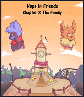 Hope In Friends Chapter 3 Cover by Zander-The-Artist