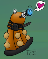 Dalek by SpacedHam