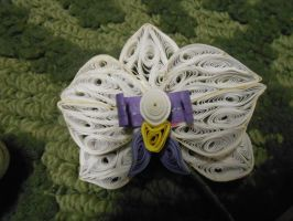 Paper quilled orchids - closeup by wholedwarf
