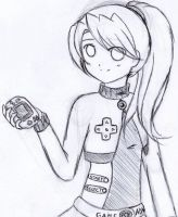 GameBoy Advance .::Gijinka::. by Mega-Kitsune