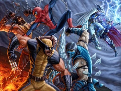 Marvel Kombat! by dreno360