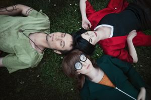 Daria, Jane and Trent - Daria cosplay by LuckyStrike-cosplay