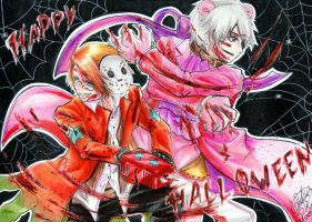Happy Halloween - Hetalia by MelindaPhantomhive