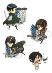 SnK: CHIBI by autome