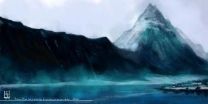 Practice_Painting_1: Mountain by VeritasX5
