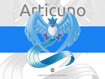 Legendary Pokemon Articuno by RIDJAM