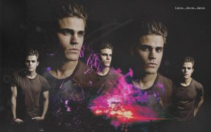 Paul Wesley by SerenaSerlene