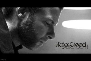 Victor Creed BW by EllieRocker