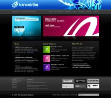Trancetribe Recordings Site by scottrichardson