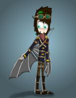 Steampunk Xephos by Qille