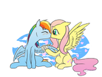 Flying Kisses by Black-Namer