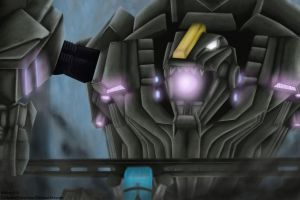 Trypticon's Rage by DarknessProtection