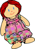 Rag Doll PNG by clipartcotttage