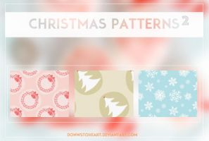 Christmas patterns 2 by Downstoheart