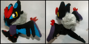 Chibi Noivern Plush by MegasArtsAndCrafts