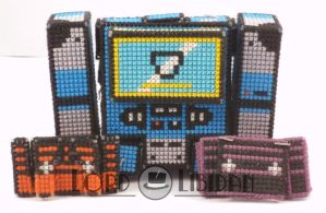 Transformer Cross Stitch Tape by LordLibidan