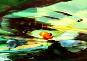 Spitpaint - Burning River by PortraitOfInnerSelf