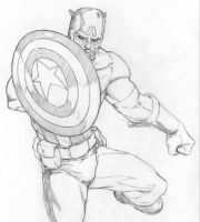 Captain America_2 by Pigbert