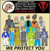 We Protect You by backerman