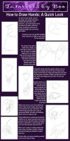 Hand Tutorial Quickie by Hatter2theHare