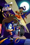 Sonic and the Thievious Hedgehogus by miitoons