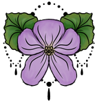 Violet Tattoo Design by moonfreak