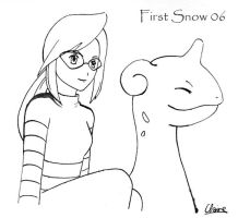 first snow - Lorelei by laquaza