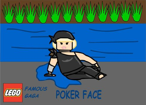 LEGO Famous GaGa: Poker Face by Mister-ESS