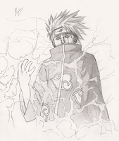 "Naruto: ""Pain Kakashi"" by fmagalhaes"