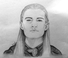 Orlando Bloom as Legolas by elegy01