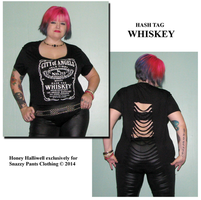 Snazzy Pants Sept 2: Hash Tag Whiskey by honeyhalliwell