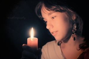 20/365 The Candle Light by photographybyteri