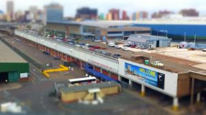 Durban Harbour Tilt Shift by shangerz