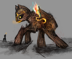 MLP earth golem pony auction 8 CLOSED by ElkaArt