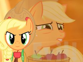 Evil  AppleJack by raredash